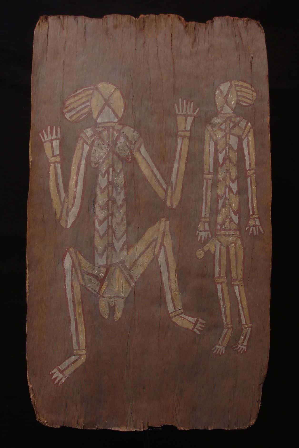 Bark Painting Australian Bark Painting Aborigine Art