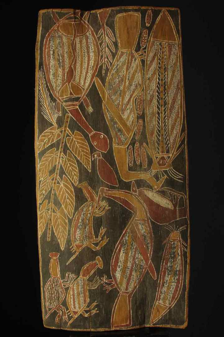 Arnhem-land-bark-painting