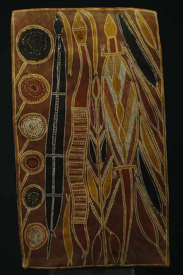 Mandagriada bark painting