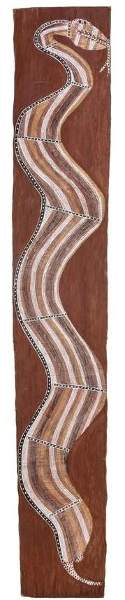 Mick Gubargu snake