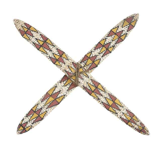 Rain forest cross boomerang