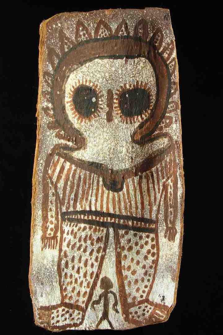 Wandjina-painting
