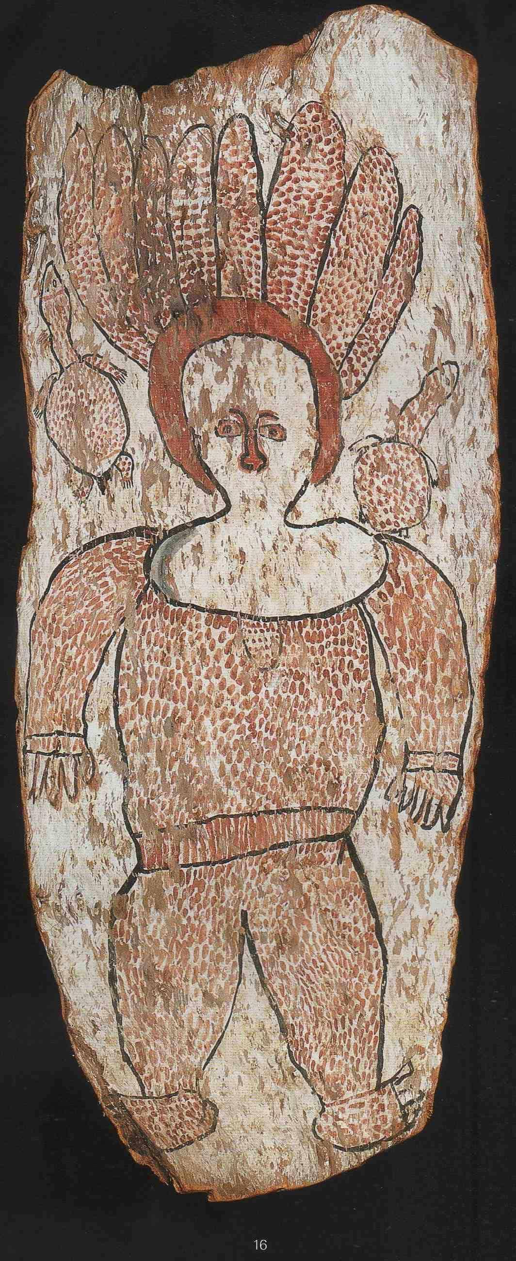 Wandjina painting