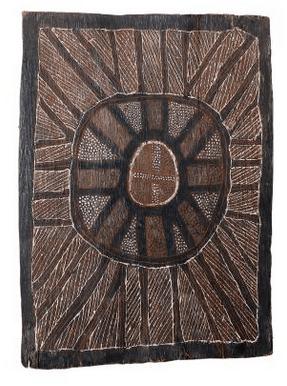 Declan Apuatimi aboriginal bark painting