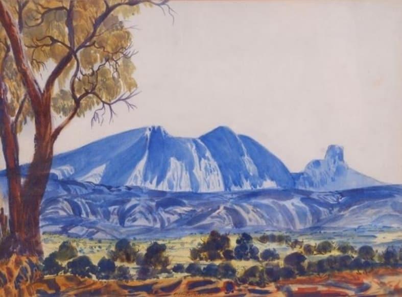 Otto Pareroultja Mt Sonder