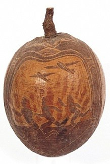 carved Boab nut by jack Wherra
