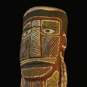Declan Apuatimi tiwi sculpture