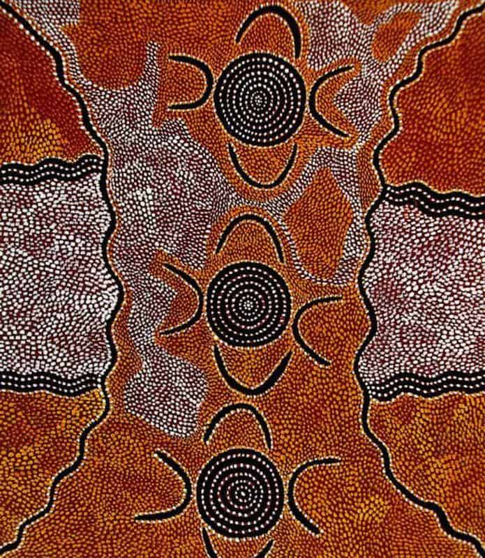 Billy Stockman Japaltjarri aboriginal painting11