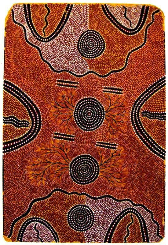 Billy Stockman Tjapaltjarri aboriginal art