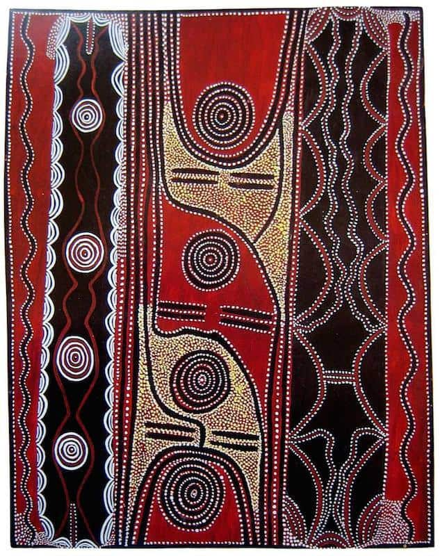 Billy Stockman Tjapaltjarri painting
