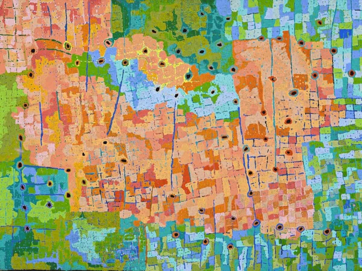 Aboriginal Dot Art | sell Aboriginal Dot Art | meaning dots in