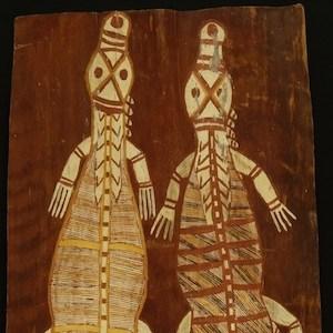January Nonganyari Bark Painting 1 copy