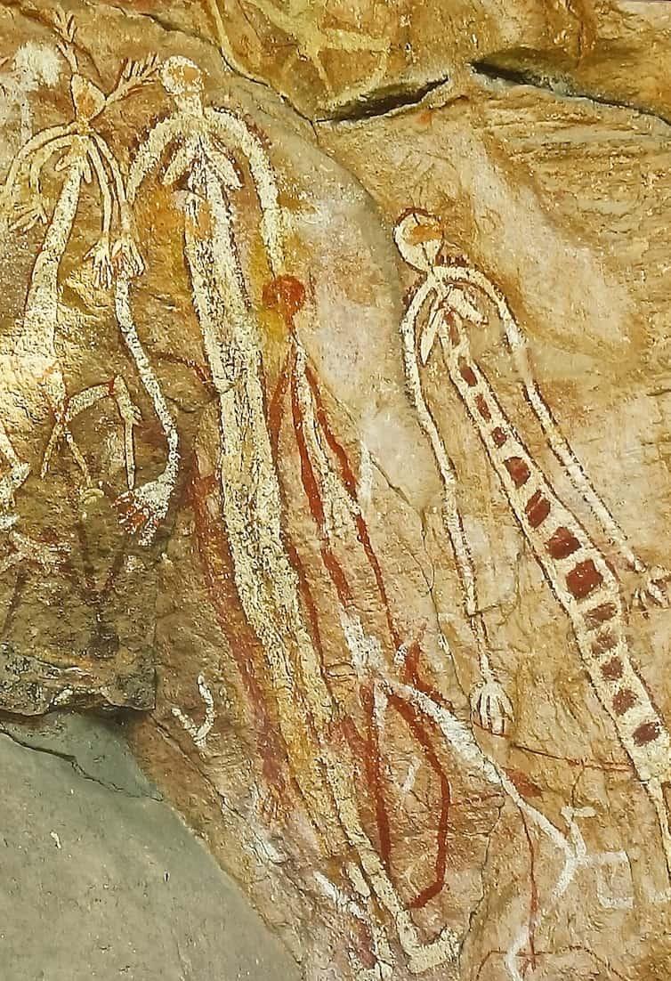 Aboriginal cave painting 3