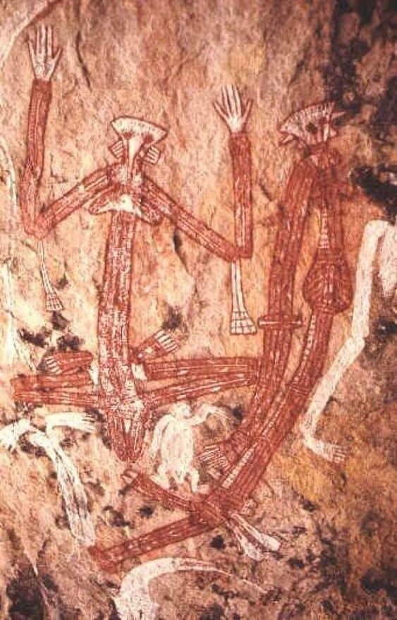 Aboriginal rock art 8