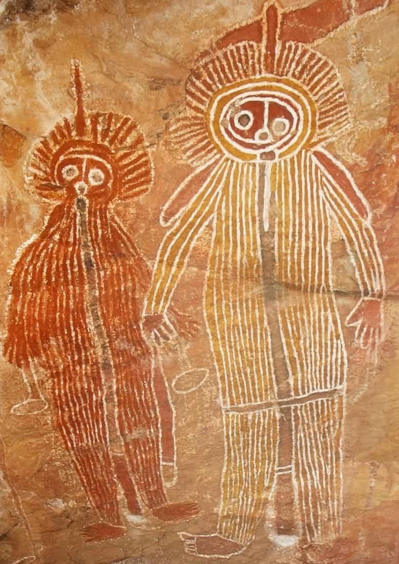 Australian Cave painting