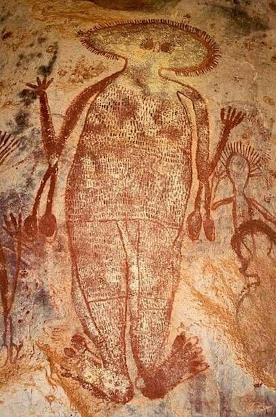 Australian cave painting 4