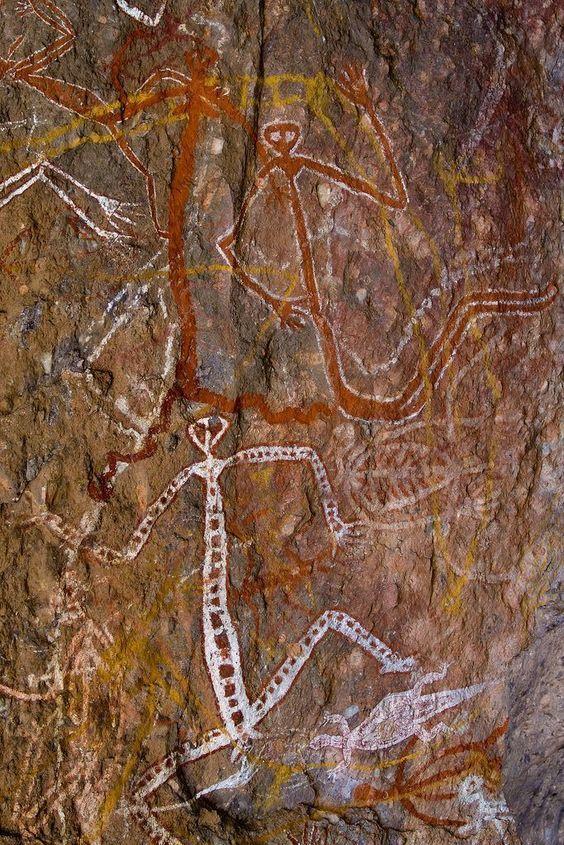 Australian cave painting 5