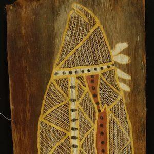 Barramundi Aboriginal Bark Painting
