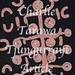 Charlie Tarawa Tjungurrayi