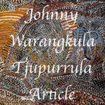 Johnny Warangkula Tjupurrula