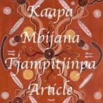 Kaapa Mbijana Tjampitjinpa