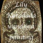 Lily karadada wandjina painting