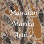 Mawalan Marika