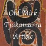 Old Mick Tjakamarra