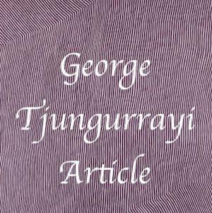 George Tjungurrayi