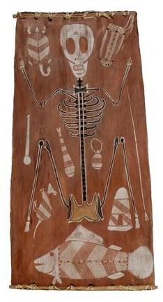Curly Bardgudubba skeleton