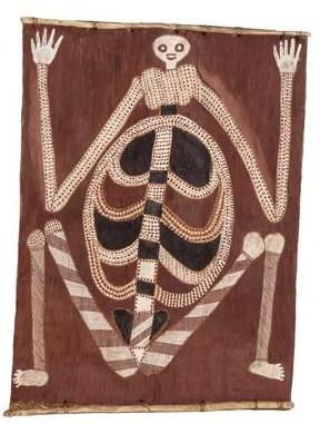 Curly Bardgudubbu skeleton