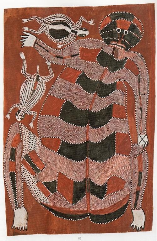 Peter Maralwanga aboriginal art