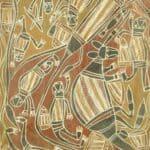Bob Bilinyarra bark painting