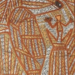 Jabarrgwa (kneepad) Warrabadalumba