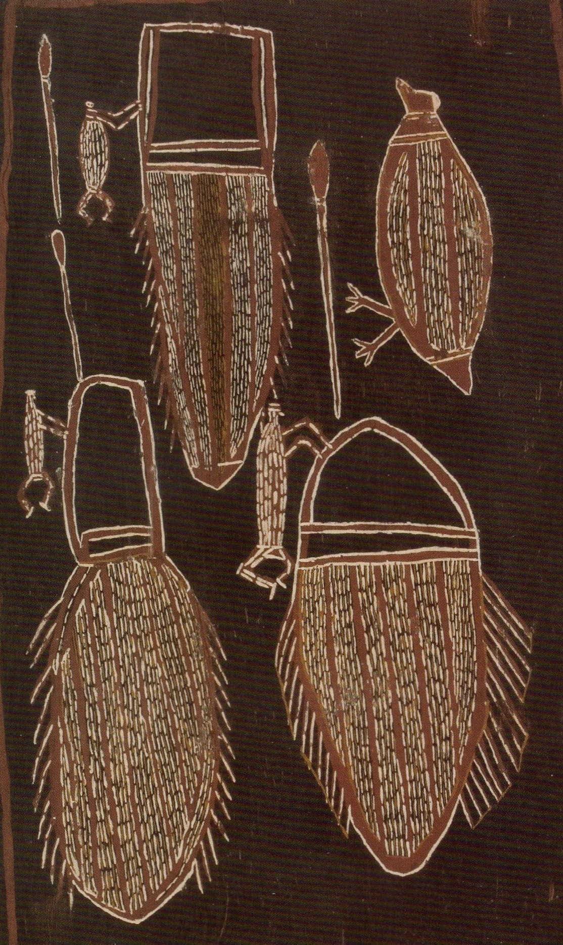 Jabarrgwa (kneepad) Warrabadalumba 12